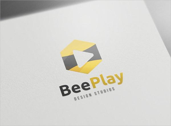 Bee Play Studios Logo Template