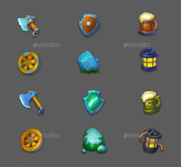 Cool Game PSD Icons
