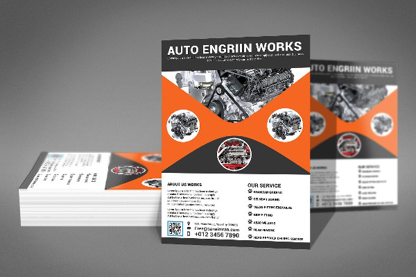 Best Auto Repair Flyer Template