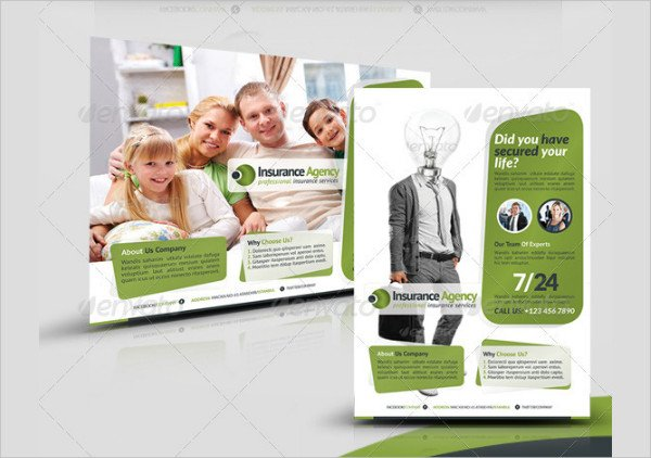 Best Flyer for Insurance Agency