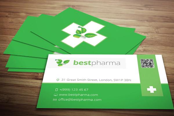 Best Pharmacy Business Card Design
