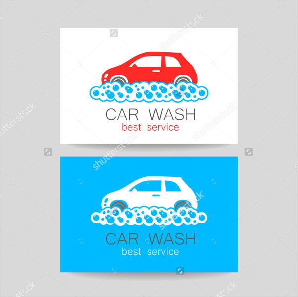 Best Service Business Card for Car Wash