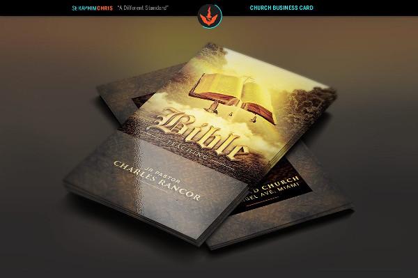 Bible Teacher Business Card