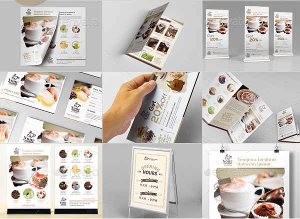 Big Coffee Menu Templates Bundle