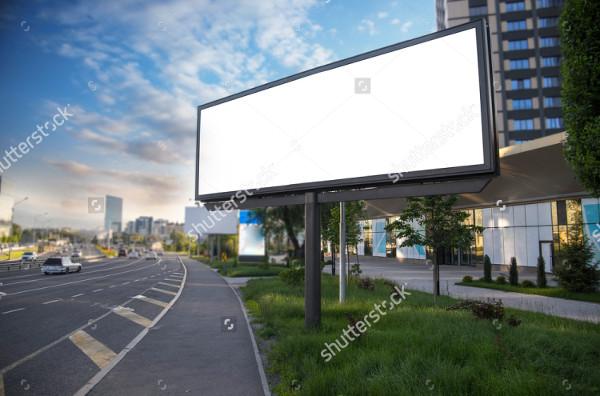 Beautiful Billboard Canvas Mockup