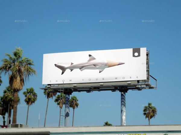 Highway Billboard Mockups Set