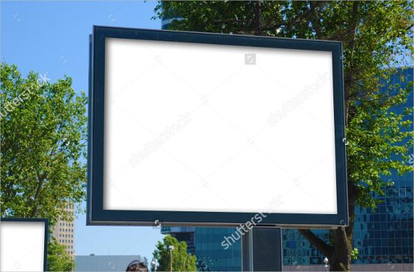 Billboard Outdoor Advertising Mockup