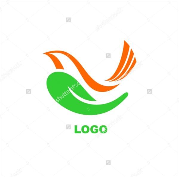 Bird Hand Logo Template
