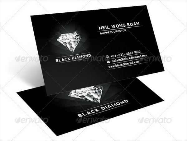 Black Diamond Business Card