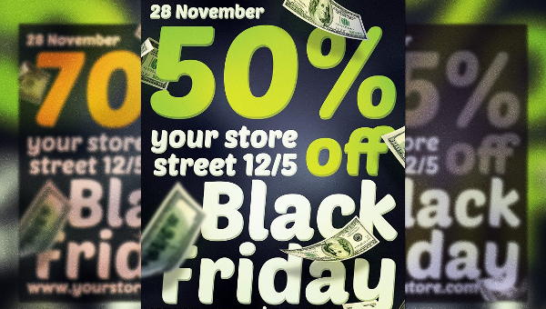 Black Friday Sales Flyers