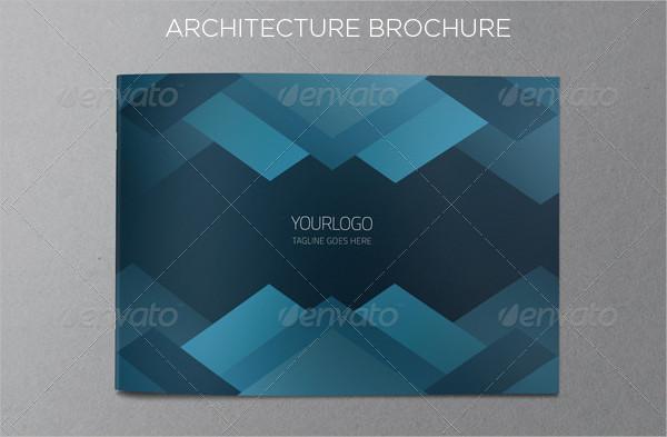 Blue Architecture Brochure Template