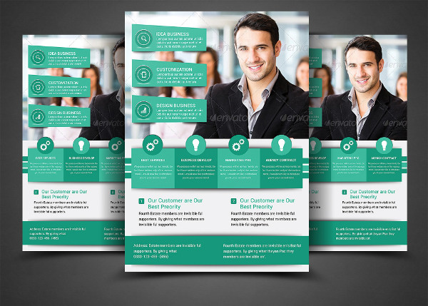 Business Event Marketing Flyer
