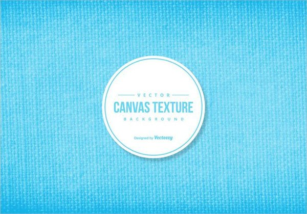 Blue Canvas Texture Background Free Download
