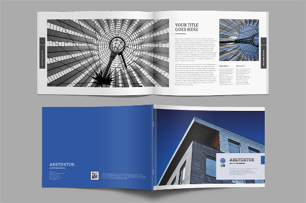 Unique Architect Brochure Template