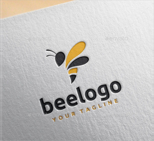 Graphic Design Logo Template of Bee