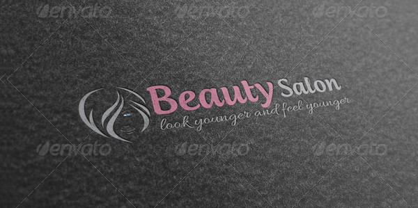 Salon Business Logo Template