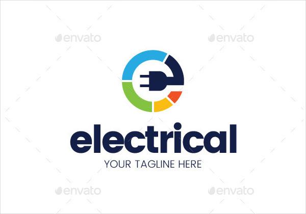Branding Electrical Logo Template