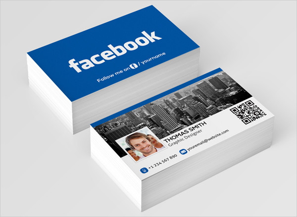 Free Business Card for Facebook