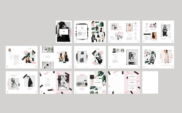 Branding Fashion Portfolio Brochures