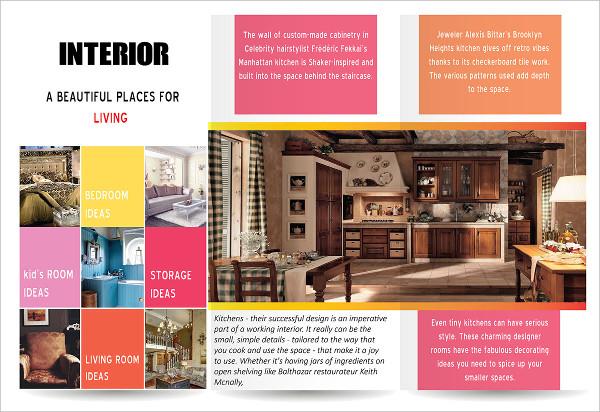 Branding Interior Design Brochure
