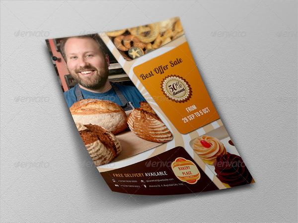 Unique Bakery Flyer Template