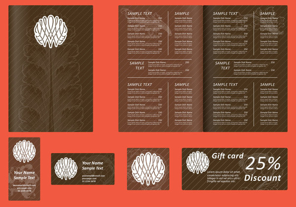 Free Brown Coffee Menu Templates
