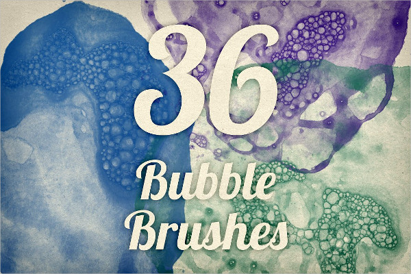 36 Bubble Textures Brushes