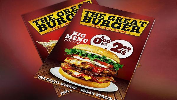Burger Flyer Templates