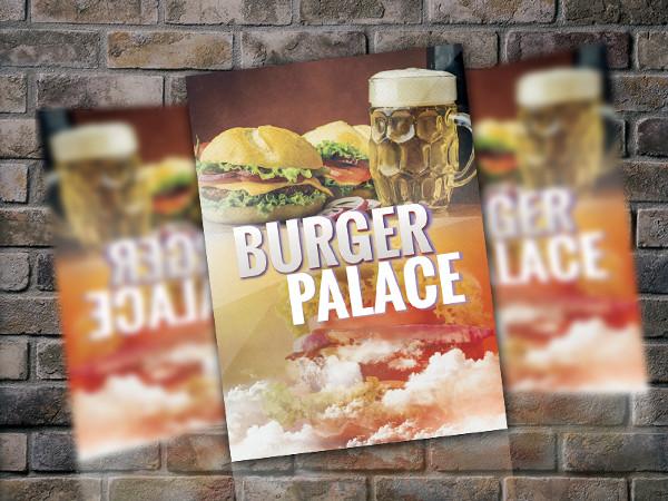 Burger Palace Flyer