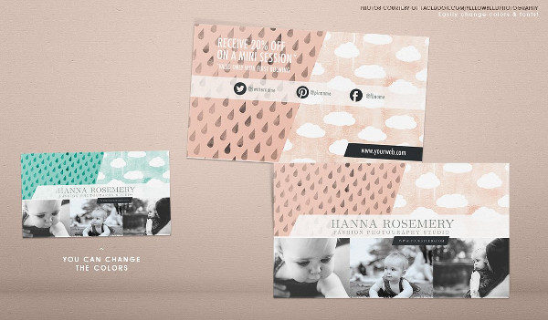 Attractive Cloud Business Card