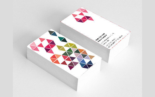 Unique Business Card for Designer