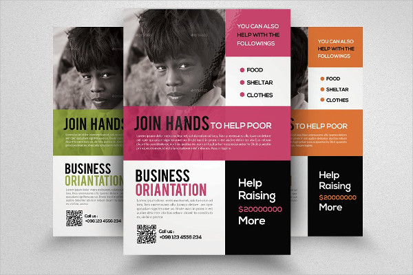 Business Charity Event Flyer Template