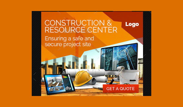 Construction Business Banner