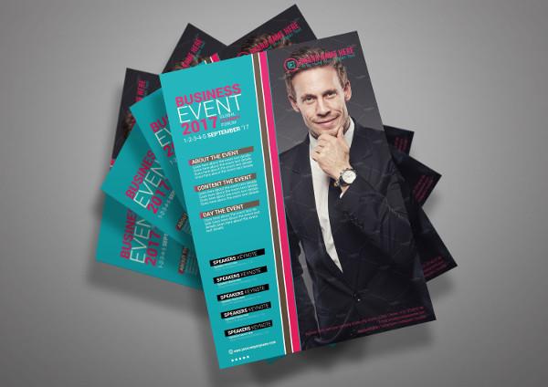 Business Economy Event Flyer