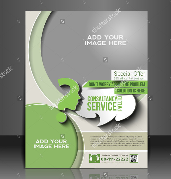 Business Event Consultancy Flyer