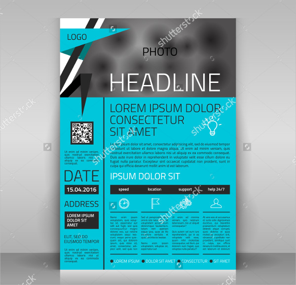 Business Event Design Flyer Template