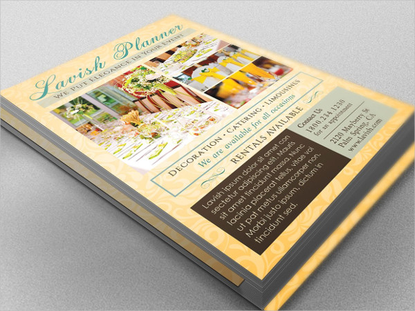 Business Event Planner Flyer Template