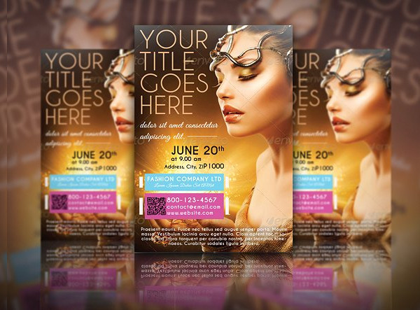 Fashion Business Event Flyer