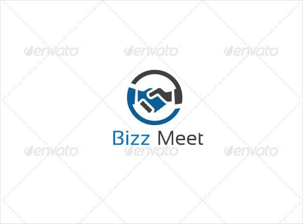 Business Hands Logo Template