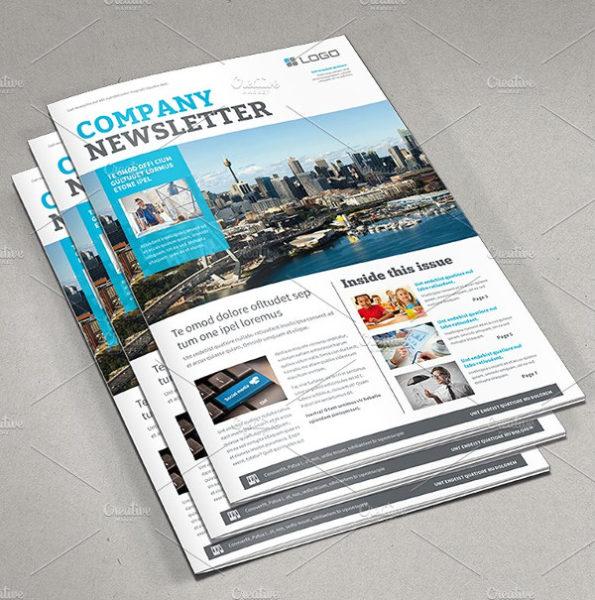 Business Newsletter Brochures