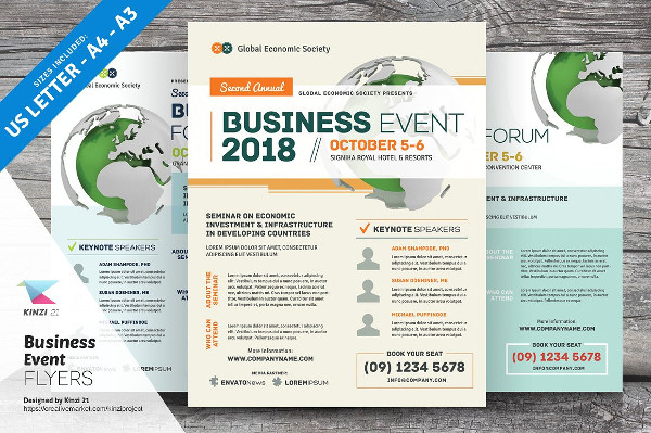 Perfect Business Event Flyers