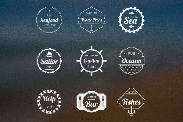 Sea Logos & Badges