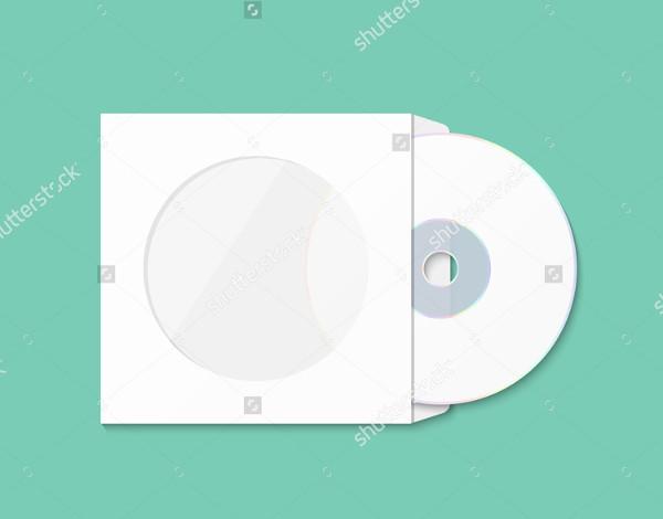 CD Packaging Mockup