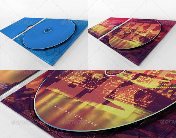 CD Showcase Mockup Kit
