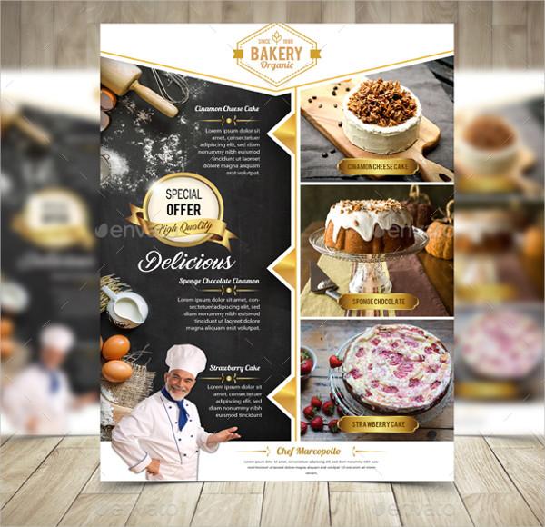 Cake & Bakery Flyers