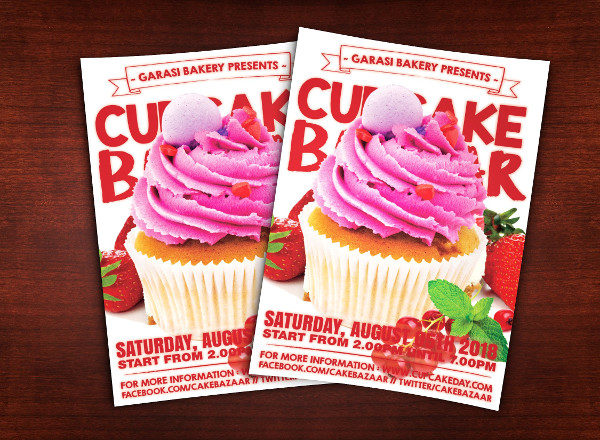 Cake Store Flyer Template