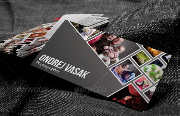 Photographer Artist Business Card Template