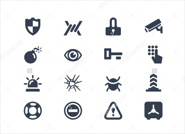 Security Vector Design Icons