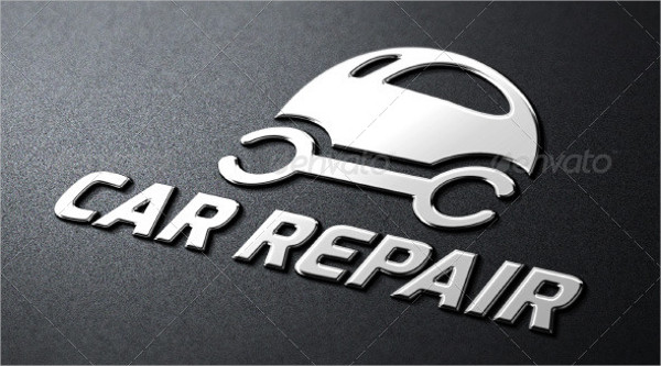 Car Repair Service Logo