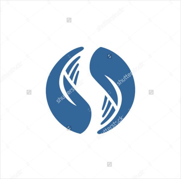 Care Hands Logo Template